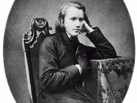 """Goethe's """"It Springs Eternal"""" Set by Johannes Brahms"""