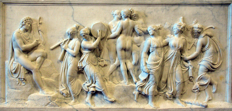 The Dance of the Muses on Mount Helicon