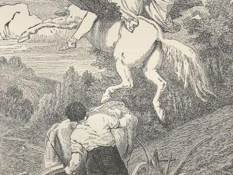 Pegasus im Joche (Pegasus in Yoke) by Friedrich Schiller