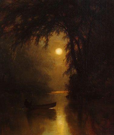 Nocturne Landscape - Frederick Edwin Church