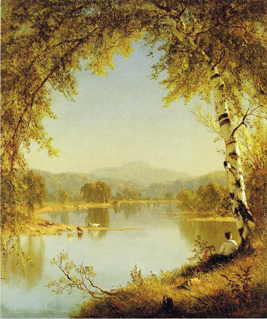 Summer Idyll - Sandord R. Gifford (1860)