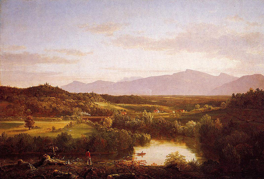 River in the Catskills - Thomas Cole 1843