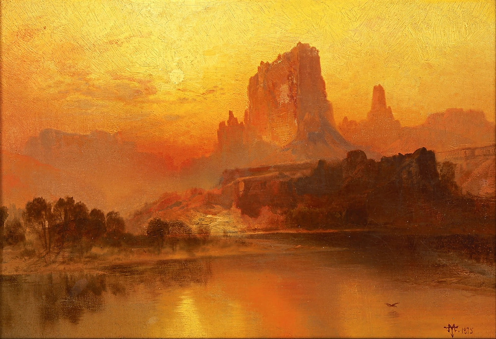 Golden Morning - Thomas Moran