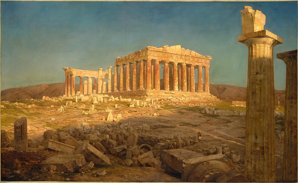 Edwin Church - The Parthenon