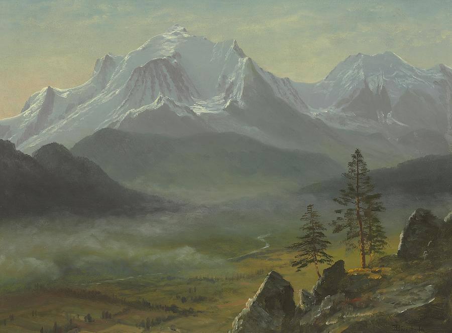 Mont Blanc - Albert Bierstadt