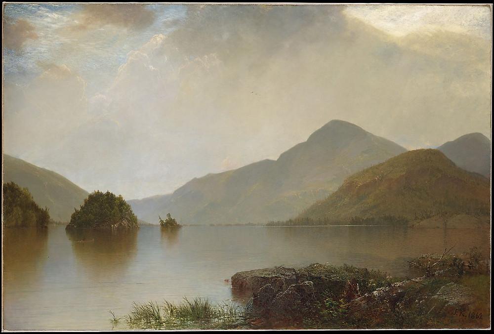 Lake George 1869 - John Frederick Kensett