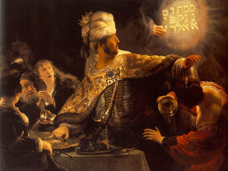 The Feast of Belshazzar by Heinrich Heine