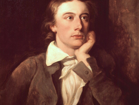 Keats' Great Odes & the Sublime: Commemorating the Life of John Keats (October 1795 – 23 Feb