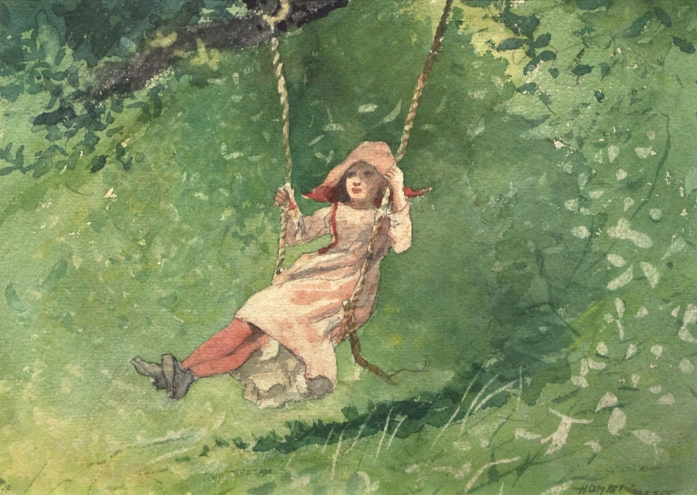 Girl Swing (1879) - Winslow Homer