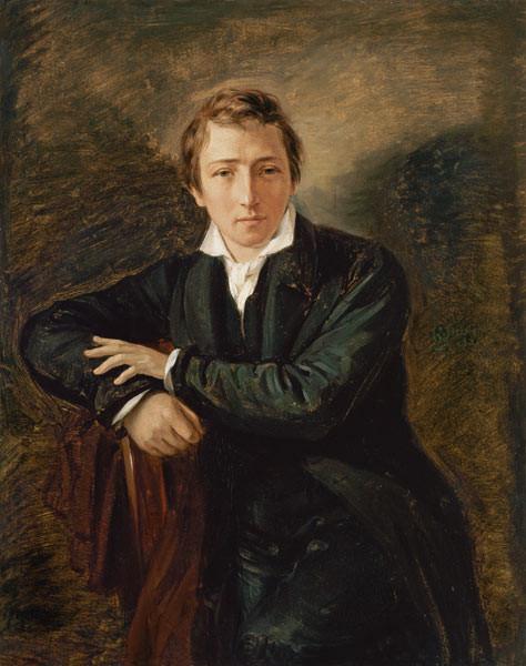 Portrait of Heinrich Heine
