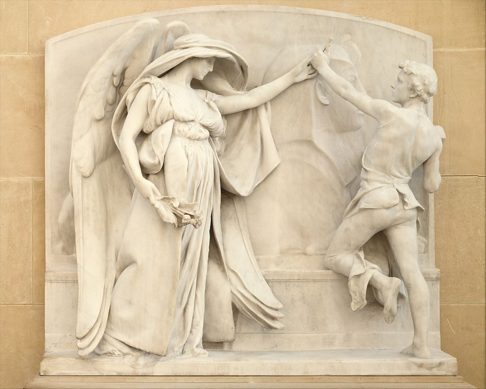 Angel of Death and the Sculptor - Daniel Chester French (1921–26)