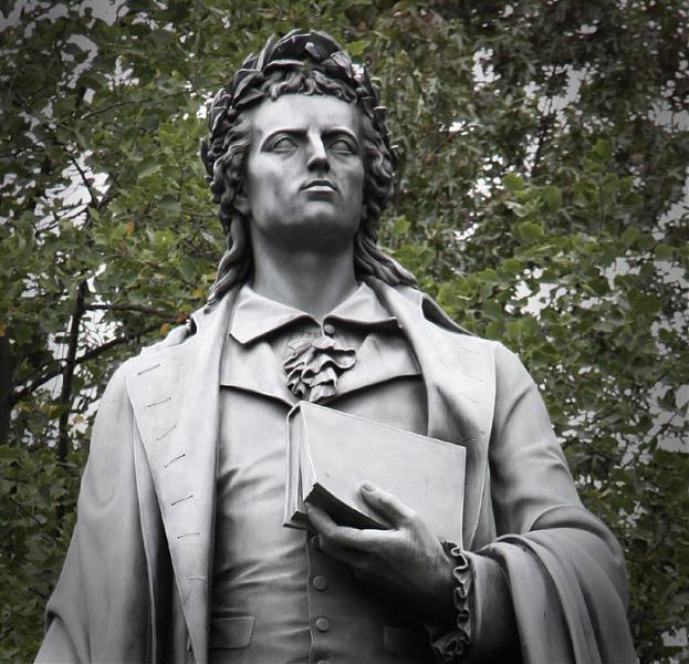 Friedrich Schiller Monument in Frankfurt