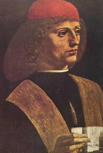 Portrait of a Musician - Leonardo Da Vinci