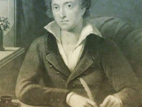 Profiles in Poetry: Percy Bysshe Shelley's Death (4 August 1792 – 8 July 1822)