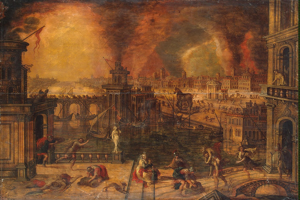 Fire of Troy - Kerstiaen de Keuninck