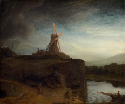 The Mill - Rembrandt van Rijn (1650)
