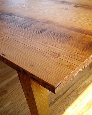 MidCentury Douglas Fir korty table