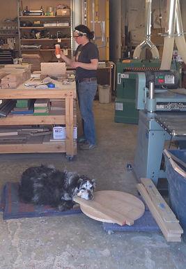 Assembling handbuilt furniture