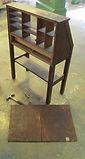 Furniture Conservation of an L and JG Stickley drop front desk