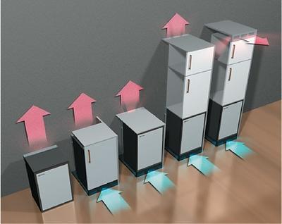 Royal Minibar Ventilation, Minibar Ventilation, Built-In Minibars, Free-Standing Minibars
