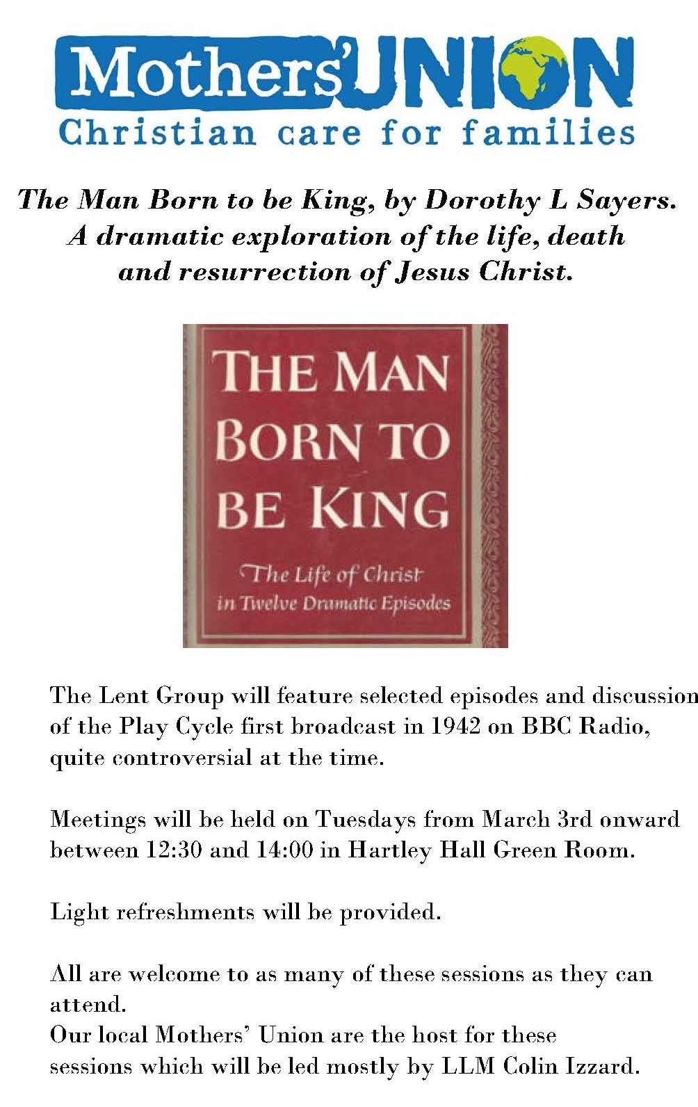 The Man Born to be King Lent Group 2020