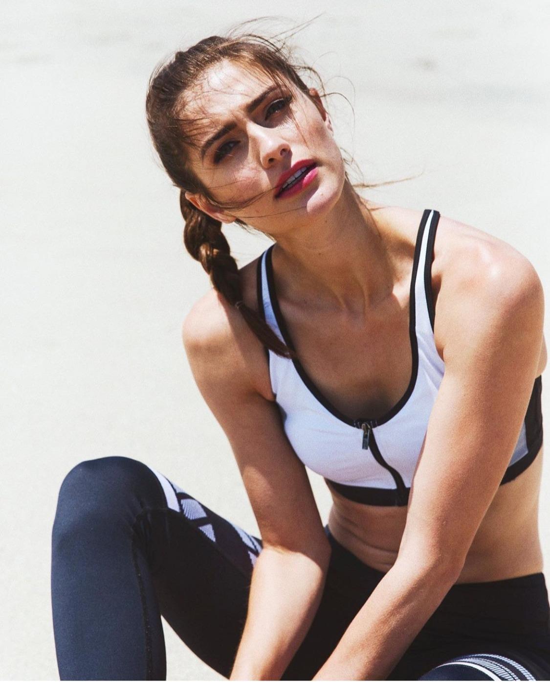 Fitness Model Beach
