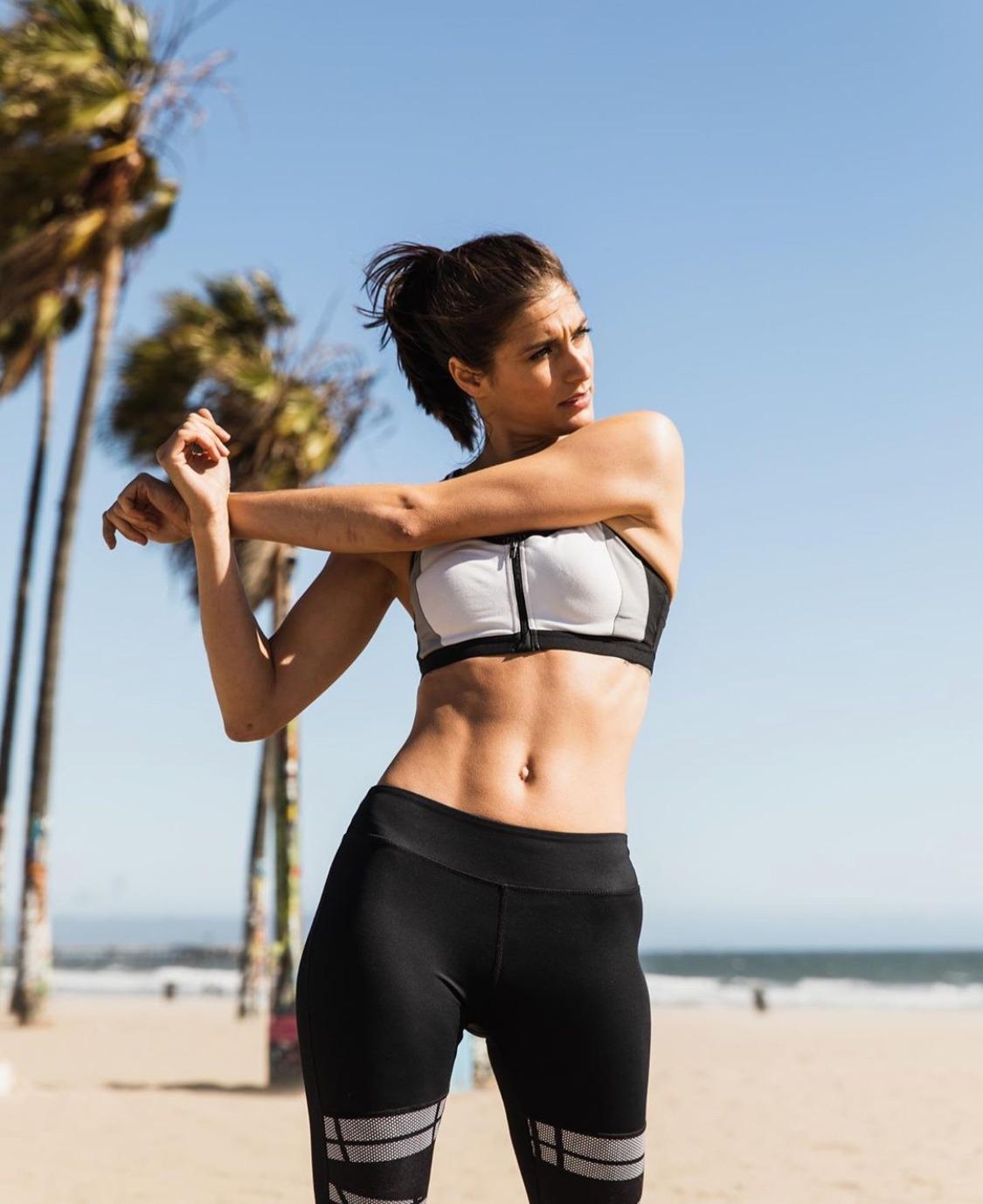 Beach Fitness Shoot
