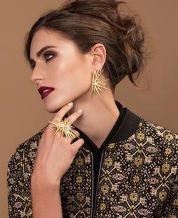 Jewelry Model Editorial