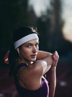 Athletic Model Photoshoot