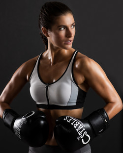 Womens Boxing Model