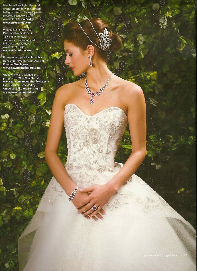 Bridal Magazine Editorial