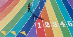 Rainbow Track Running LA