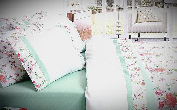 Juego de sábanas Flores