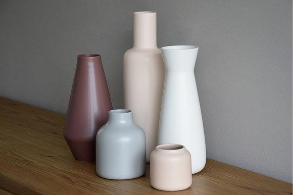 Jarrones cerámica mate
