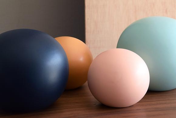 Bolas cerámica de colores