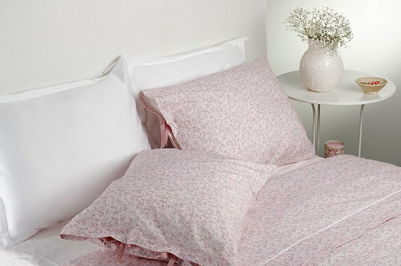 Juego de sábanas Celine rosa