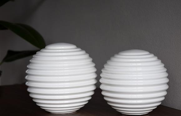 Bolas cerámica blancas