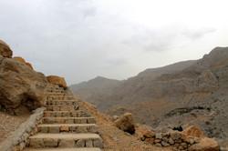 Лестница к форту Дхайя
