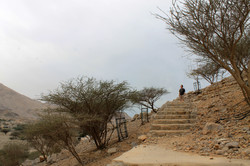 Подъем к форту Дхайя