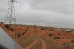 Красные пески пустыни
