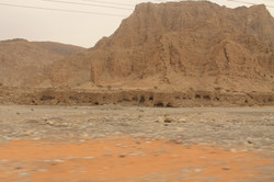 По пути к горе Jabel Jais