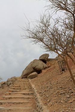 Ступени к форту Дхайя