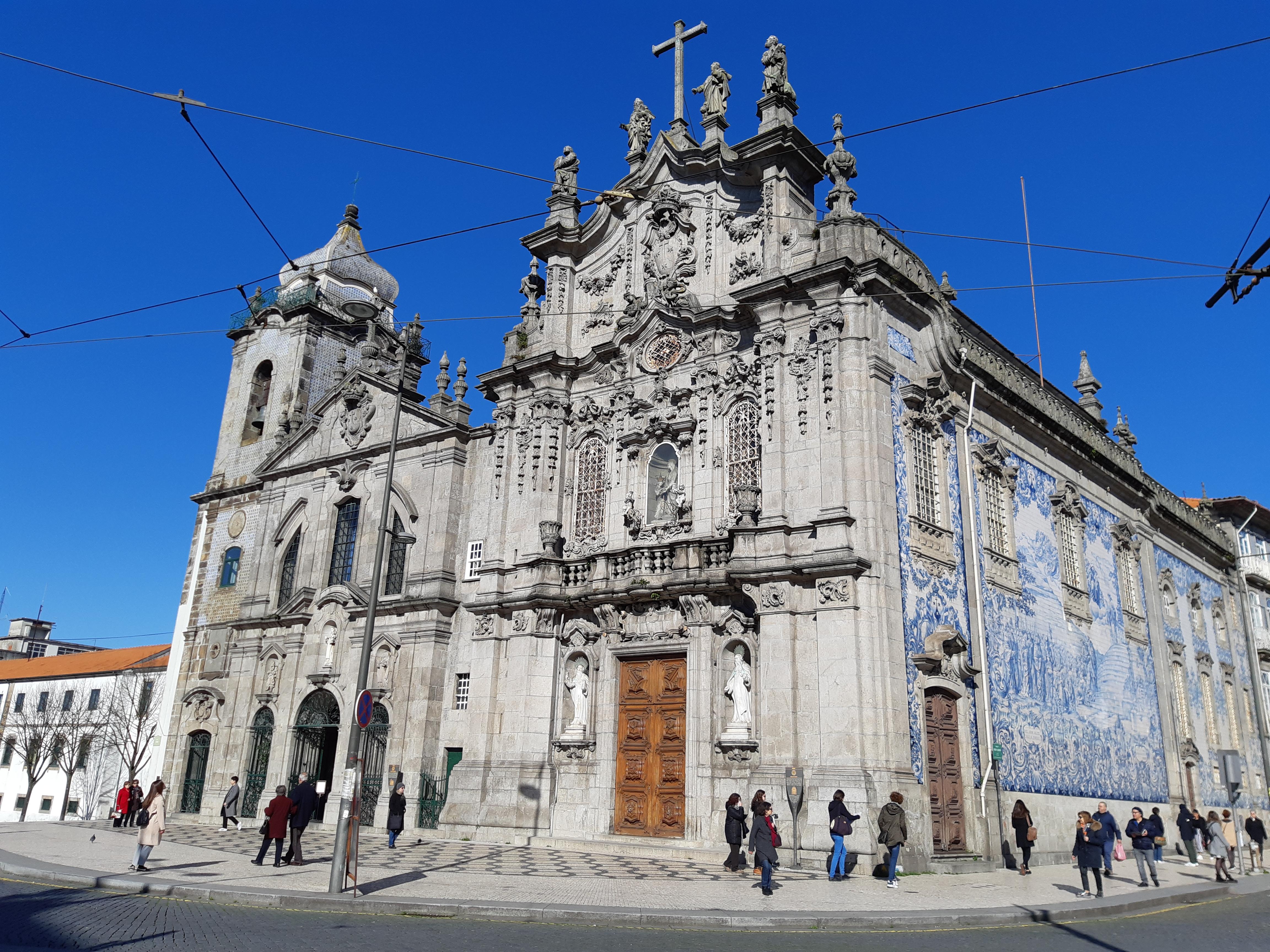 Церковь Igreja do Carmo