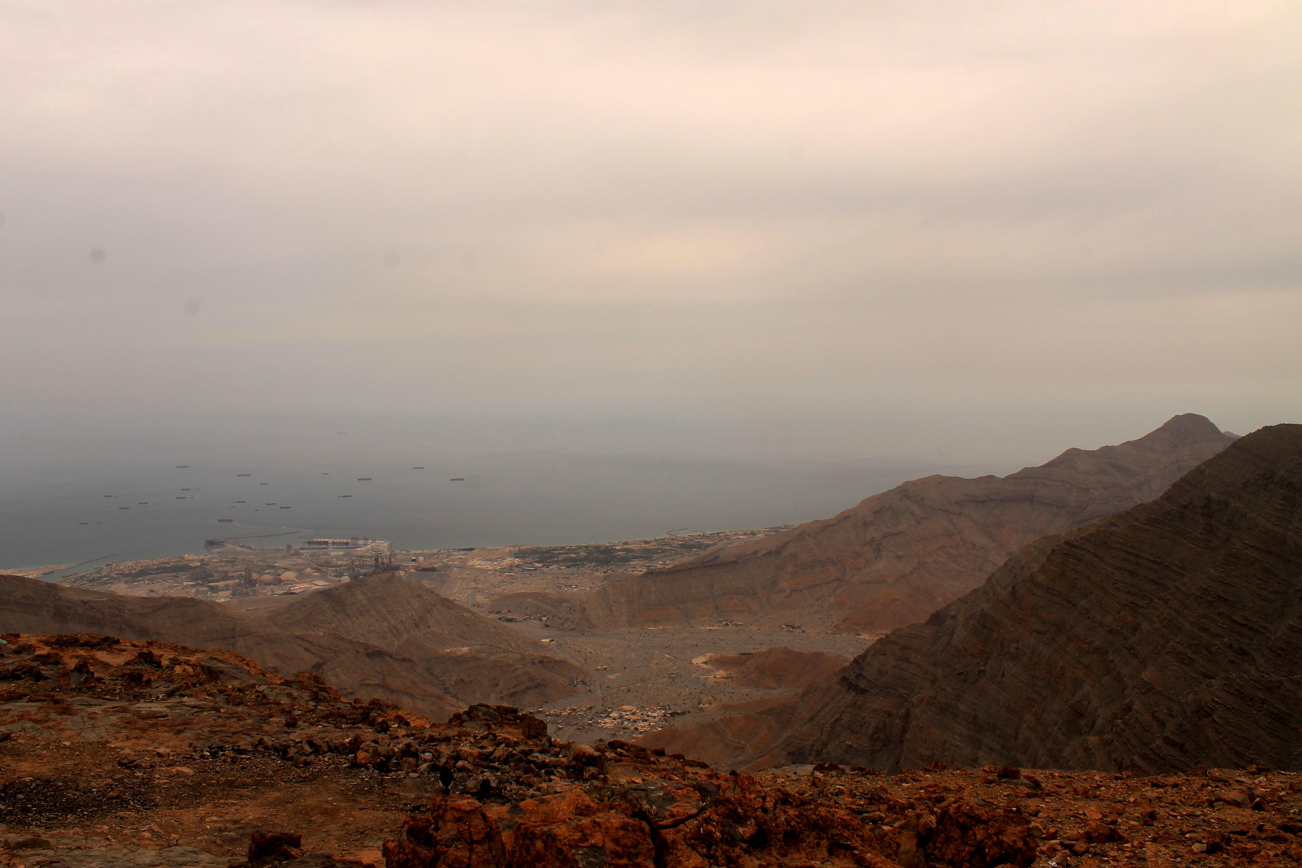 Вид на Персидский залив