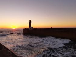 Закат над Атлантикой