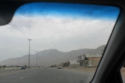 Оманские горы вдали