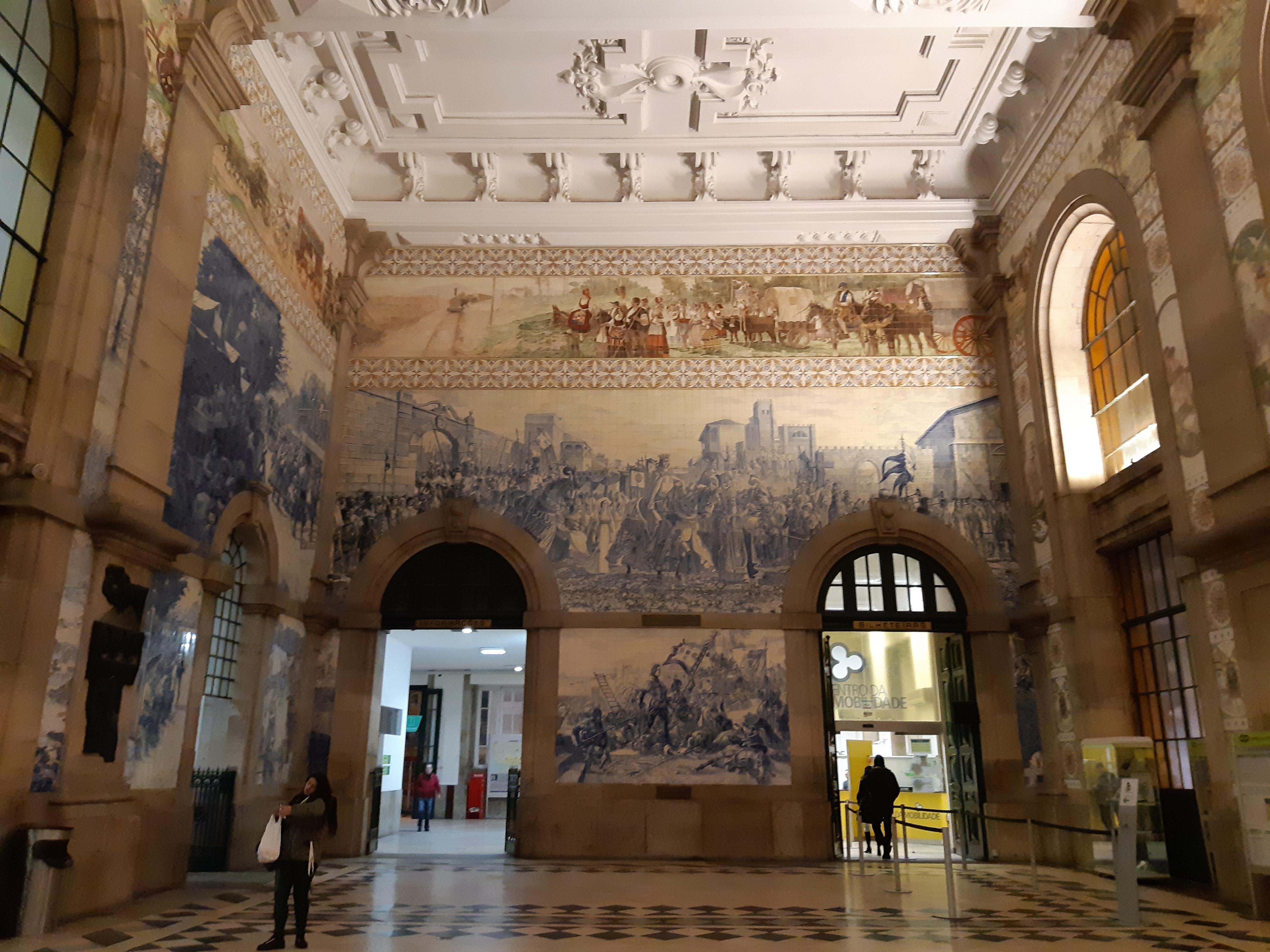 Порту, вокзал Сан Бенто