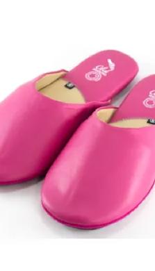 Traveler Slippers Pink