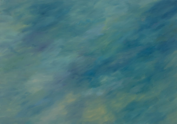 """Sunrise In The Park, 40"""" x 28"""", Oil on Linen"""