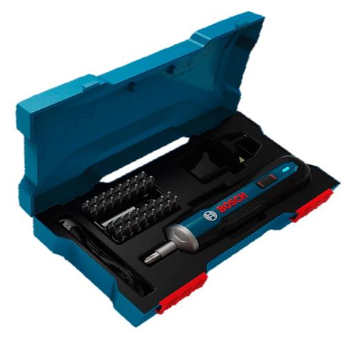 Atornillador BOSCH GO + Kit de 36 accesorios